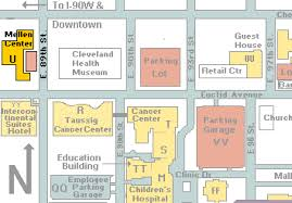 map of cleveland clinic the section of hospital medicine at the cleveland clinic