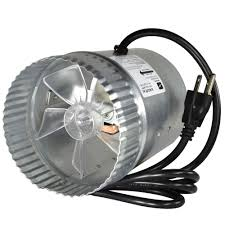 register booster fan reviews inductor 5 in corded in line duct fan db205c the home depot