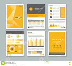 template company profile annual report brochure flyer layout