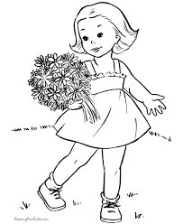 preschool valentine coloring book pages 015
