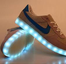 light up shoes for sale blue logo led light up shoes for adults for sale