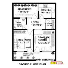 Homeplan Home Plan In 690 Sq Ft With House Plansft Plans Ideas Picture