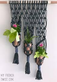 macrame hanging herb garden my french twist