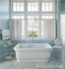 Cornflower Blue Bathroom by Decorating Ideas For Blue And White Bathrooms Traditional Home
