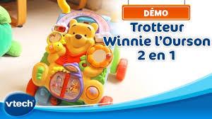 siege de bain interactif 2en1 vtech trotteur winnie l ourson 2 en 1 bébé part explorer en compagnie