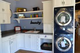 home design laundry room ideas stacked washer dryer popular in