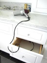 curling iron wall mount hair dryer curling iron organizer home design ideas