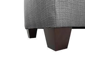 Sole Designs Ottoman by Amazon Com The Sole Secret Button Tufted Ottoman With Shoe