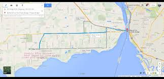 Usa Google Maps by Fort Erie Buffalo Usa Canada Peace Bridge To Stewarts Fried