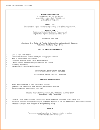 high resume for college admissions exles highschool resume exlesh for college admission sle