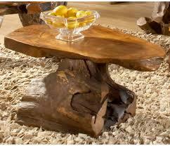 groovystuff sierra teak wood slab coffee table hayneedle