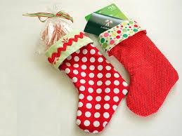how to make a mini stocking hgtv