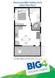 one bedroom spa villa big4 naracoorte holiday park sa