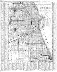 chicago map streets chicago names