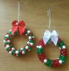 tri bead wreath ornament kaboose i hang these with gold