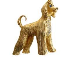 afghan hound vintage afghan dog etsy