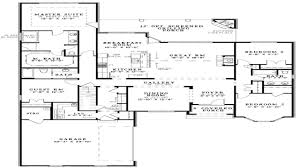 modern open floor house plans
