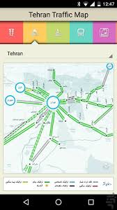 Tehran Map Tehran Traffic Map Download Install Android Apps Cafe Bazaar