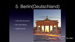 größte stadt deutschlands fläche die 10 größten städte europas