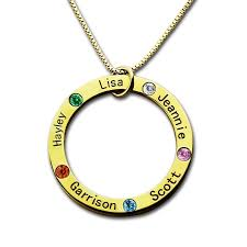 Mom Necklace With Kids Names Personalized Necklaces U2013 My Customize