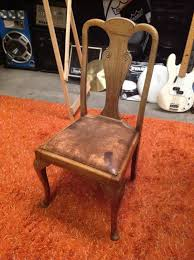Leather Queen Anne Chair Dining Room Archives Titan Props
