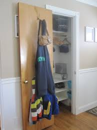 quick coat closet update