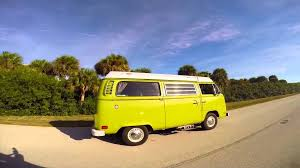 new volkswagen bus yellow camping vw van style in st pete clearwater youtube