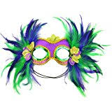 mardi gras boas new deluxe mardi gras 72 costume accessory feather