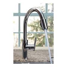 overstock kitchen faucet newport brass 1500 5103 east linear pull spray kitchen faucet