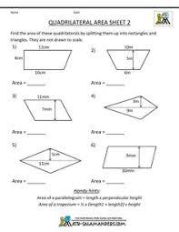 area of a triangle worksheet google search algebra pinterest