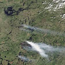 Canada Forest Fire Map by Fires In Quebec Image Of The Day