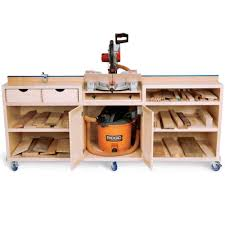 wood table saw stand take a closer look at the ultimate miter saw station project this