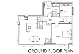 ground floor plan floor plan self build house building home architecture