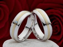 verlobungsring silber oder gold eheringe verlobungsringe aus silber und gold mit echten topas