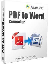 Pdf To Word Aiseesoft Pdf To Word Converter 3 3 26 Indir Program