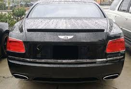 2016 bentley falcon 2014 2016 bentley flying spur linea tesoro rear lip spoiler