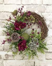 summer door wreath front door wreath summer wreath for door
