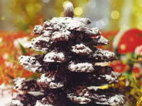 chocolate hazelnut christmas tree recipe 9kitchen