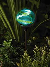 Solar Powered Landscaping Lights Outdoor Garden Lighting Solar Powered Garden Globe By Murano Is
