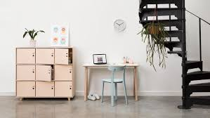 bureau collectif bureau démontable compact opendesk desk openwood