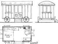 Vardo Floor Plans 227 Best Vardo Gypsywagon Construction Images On Pinterest