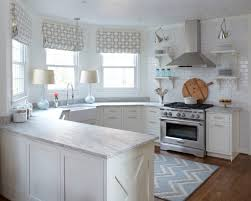 Kitchen Glass Backsplashes White Kitchen Glass Backsplash Pelham Shingle Style For A Modern