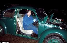 Old Beetle Interior Megan Ashton Built Porsche From Wrecked Volkswagen Beetle For Her