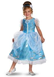 girls cinderella sparkle deluxe costume princess birthday party