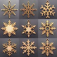 wooden decorations ebay