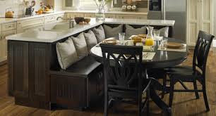 kitchen island benches wood kitchen island with bench for decor 16 seating throughout