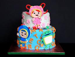 team umizoomi 2d fondant birthday cake topper