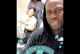kevin hart and eniko hart bring baby kenzo home for thanksgiving