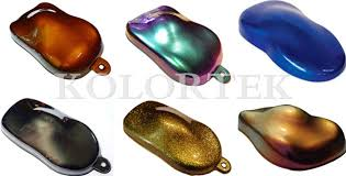 magic color pearl pigment for car coating thermochromic chameleon