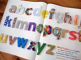 Ideas For Letters Libbie Grove Design Ideas For Kraft Letters